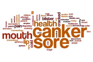 canker and cold sore
