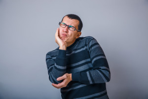 Man with Cavity Pain Fillings
