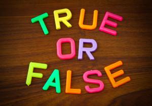 True or False Colorful
